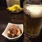 29964818 - 生ビール&お通し