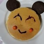 29964875 - くまパンケーキ(娘のお絵描き後)。