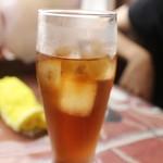 カレーナンハウス - セットのウーロン茶