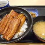 吉野家 - 鰻丼 二枚盛セット