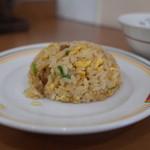 餃子の王将 - 餃子の王将 宝ヶ池店の皿うどんとジャストサイズ炒飯267円(14.08)