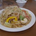 餃子の王将 - 餃子の王将 宝ヶ池店の皿うどん540円(14.08)