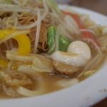 餃子の王将 - 餃子の王将 宝ヶ池店の皿うどんの具(14.08)