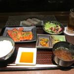 29967825 - 焼き肉御膳+アイスウーロン茶 1296円+0円