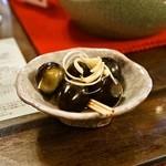 悟空茶荘 - 2014.8 うずら玉子ぴーたん5個(280円)