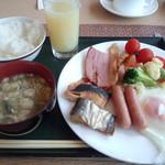 29968787 - 朝食 ~盛りつけました①~(2014.08.07)
