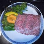 焼肉 高麗苑 - 和牛ザブトン1600円