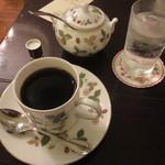 カフェ アマティ - ブレンドコーヒー600円