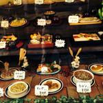 レストラン 三海 - 陳列ケース
