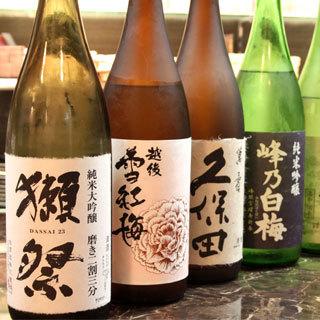 日本酒×串天ぷら
