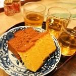 松翁軒 - 試食は「カステラ」と「チョコラーテ」