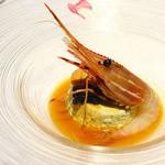 リストランテ マツオ セッテルーリオ - 季節のスフォルマート オシュトラキャビアと北海道産生ウニと共に