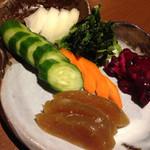 はかたや木鶏 - 料理写真:漬物