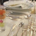 レストラン・クボウ - 祝宴前のお慶びの一口オードブル