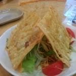 京風創作料理 一 - パリパリ湯葉サラダ