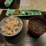 菅井 - 2014/8 釜飯 とうもろこしとじゃこ