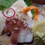 浜吉 - 刺身定食の刺身