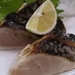 竹浜 - 料理写真:鰆のタタキ