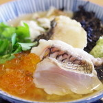 レストラン日本海 - 名物・鯛茶漬け after