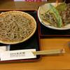 わか松 - 料理写真:もりそば&天ぷら