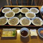 左京 - 行けそうなので、二人前10皿を追加しました。