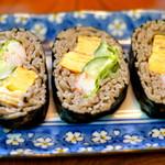 大八そば - 蕎麦寿司