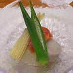 味工房まんま - 野菜の炊き合わせ