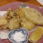味工房まんま - 明石のタコの天ぷら