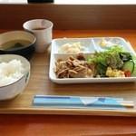 喫茶 ハートリー - 料理写真:豚のしょうが焼き(一般メニュー)