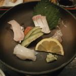 食楽漁師村 - 刺身