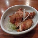 鶏唐 やまをんち - にんにく醤油だれ(480円)