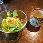 ごはんや ちどり ムゼウム - サラダとスープ