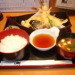 食通 ゆたか - 天ぷら定食