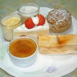 3561 - ブリュレとケーキ