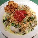 カフェ・レジェンド - 牡蠣のチャウダーのスープパスタ