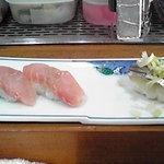 波布鮨 - 金目鯛ときびなご