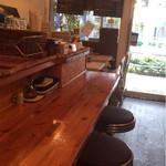 ミリオンダラー カフェ - カウンター