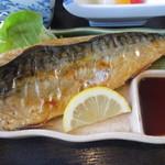 魚ごころ - 鯖塩焼き(昼定食)