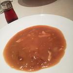 蔭山樓  - ランチセット(ふかひれ+ご飯)