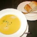 ビストロ ラ バルブ - スープ・パン