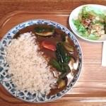 オニオンジャック - 野菜カレーランチ ¥950