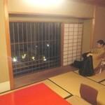 菊乃井 本店 - お部屋からの眺めも良い