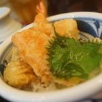 福乃屋 - ミニ天丼