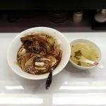 上海亭 - 角煮中華丼セット