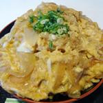 喫茶パール - 「カツ丼」山盛りの玉子とじ