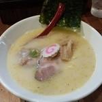 麺肆 秀膽 - 塩ラーメン(鶏白湯)