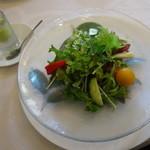 ガーデンレストラン アマルフィイ - 彩り豊かな湘南野菜を盛り込んだガーデンサラダ