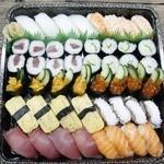 魚福 - 寿司セット4人前
