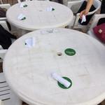 ハイネケン ビアテラス - テーブル席