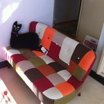 エグジット カフェ - 2組限定個室の可愛いソファー